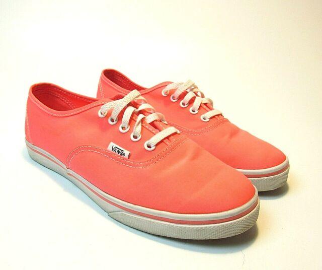 VANS Authentic Neon Splatter Pink/white