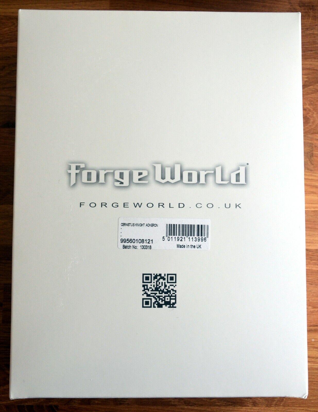 Warhammer 40k Imperial Caballero Forge World Acheron