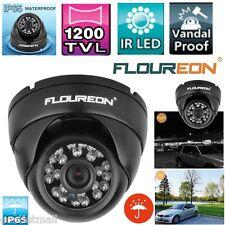 Waterproof 1200TVL CCTV Security Dome Outdoor DVR Camera IR LED Night Vision Cam