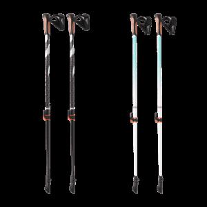 Nordic-Walking-Stoecke-Ergonomische-Griffe-Active-Touch-Trekking-Teleskop-Wander