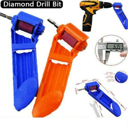 Drill Bit Sharpening Portable Diamond Corundum Grinding Wheel Power Sharpener JT