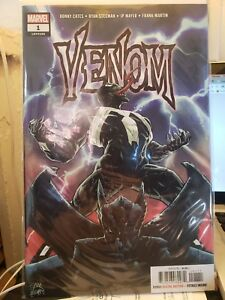 Details about Venom #1 (2018) NM 1st Print Main Cover Marvel Donny Cates  Stegman Legacy #166