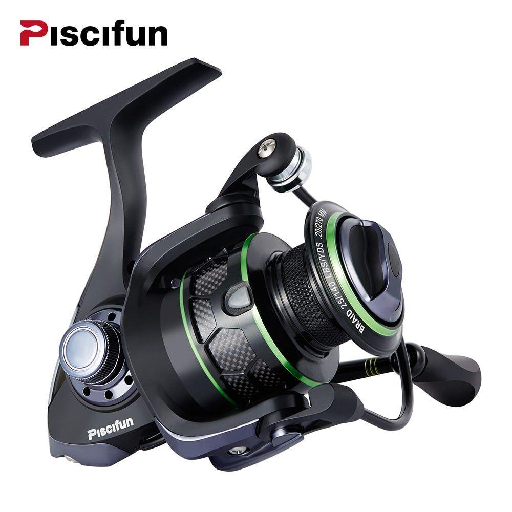 Piscifun Venom Water Resistant Spinning Reel Max Drag 12Kg Carbon Drag 10+1