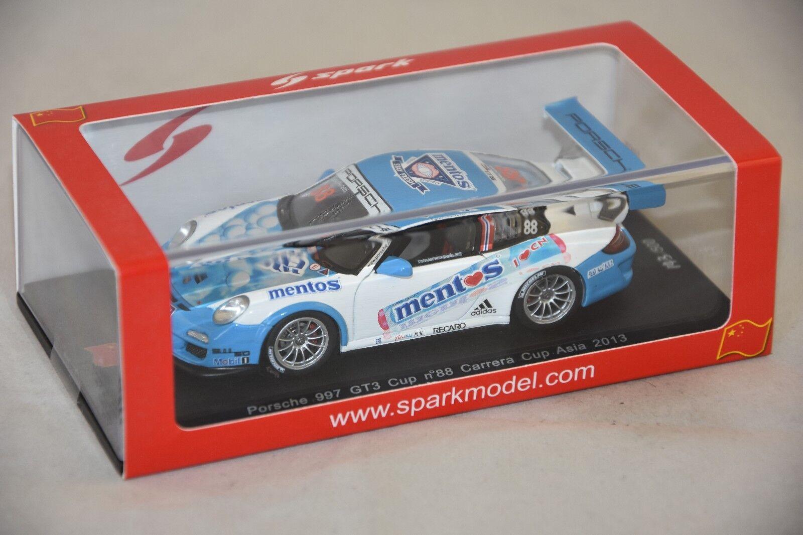 Spark SA039 - PORSCHE 997 GT3 Cup n°88 Carrera Cup Asia 2013 E. Perfetti  1 43