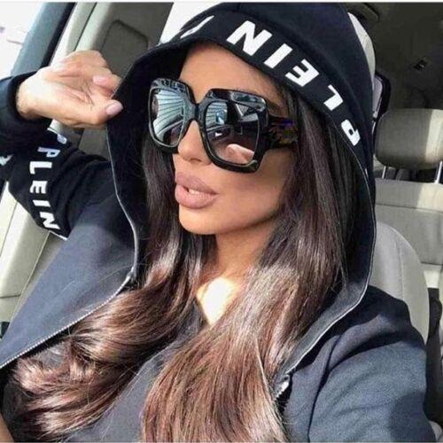 "XXL OVERSIZED /""Jackie/"" Women Sunglasses Aviator Flat Top Square VINTAGE Shadz"