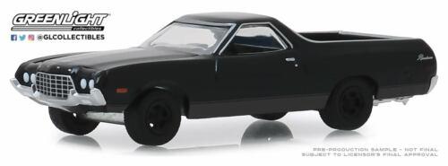 A.S.S NEU GreenLight 1//64 Ford Ranchero 1972 Black Bandit Series 22