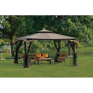 Regency Ii 10 X 12 Patio Gazebo With Mosquito Netting
