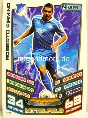 Match Attax 13//14 2013//2014 Karte aussuchen TSG 1899 Hoffenheim