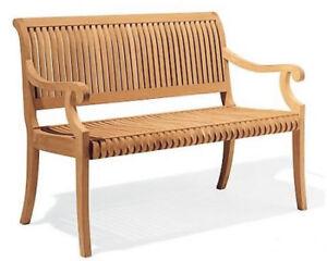 Giva A-Grade Teak 5 Feet Outdoor Garden Patio Luxurious Bench Furniture New