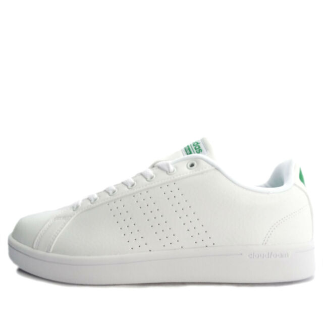 Size 10.5 - adidas Cloudfoam Advantage Clean Footwear White