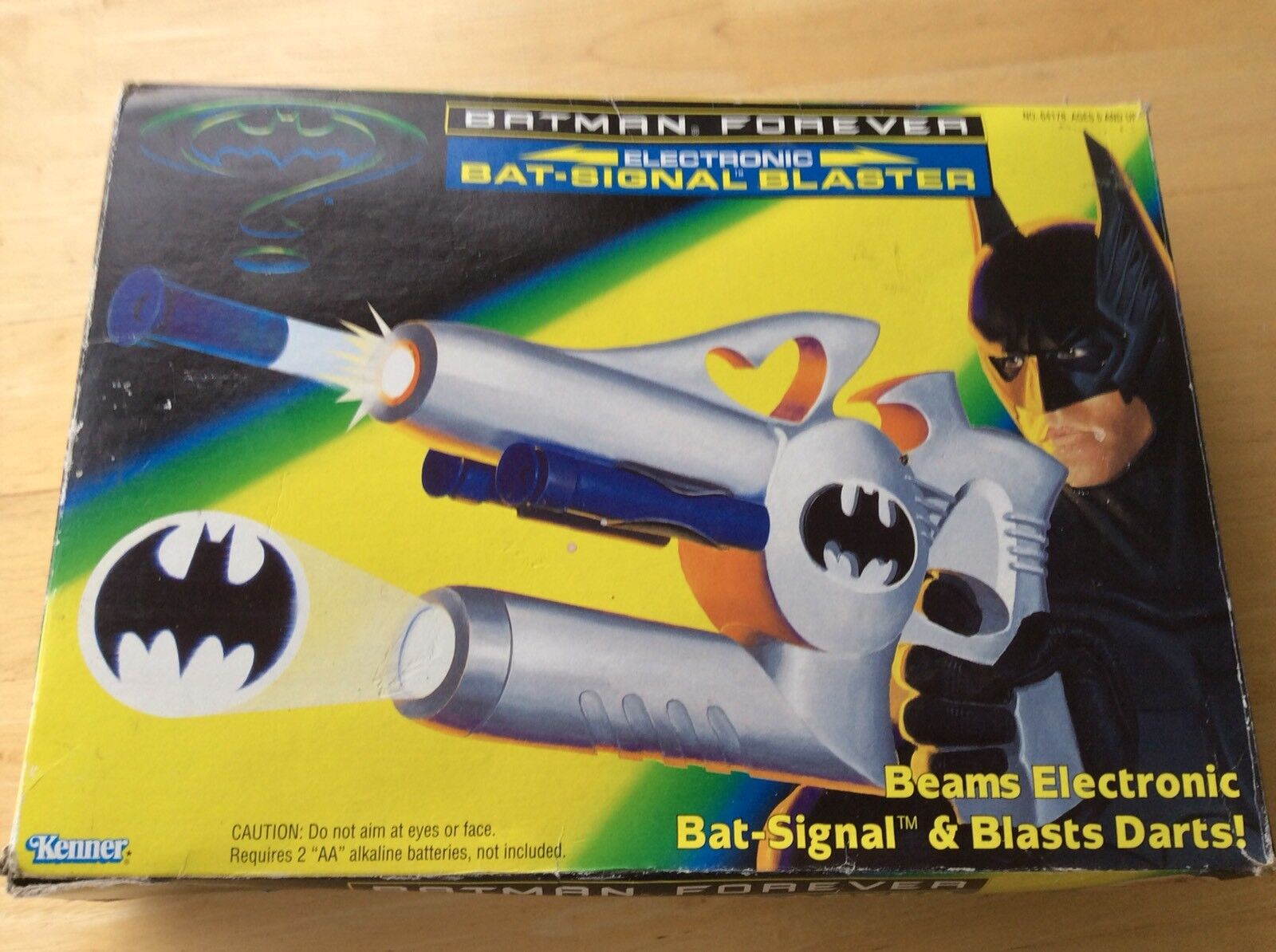 Batman Forever Kenner Bat Signal Blaster  1995 Very Rare  Look In The Shop