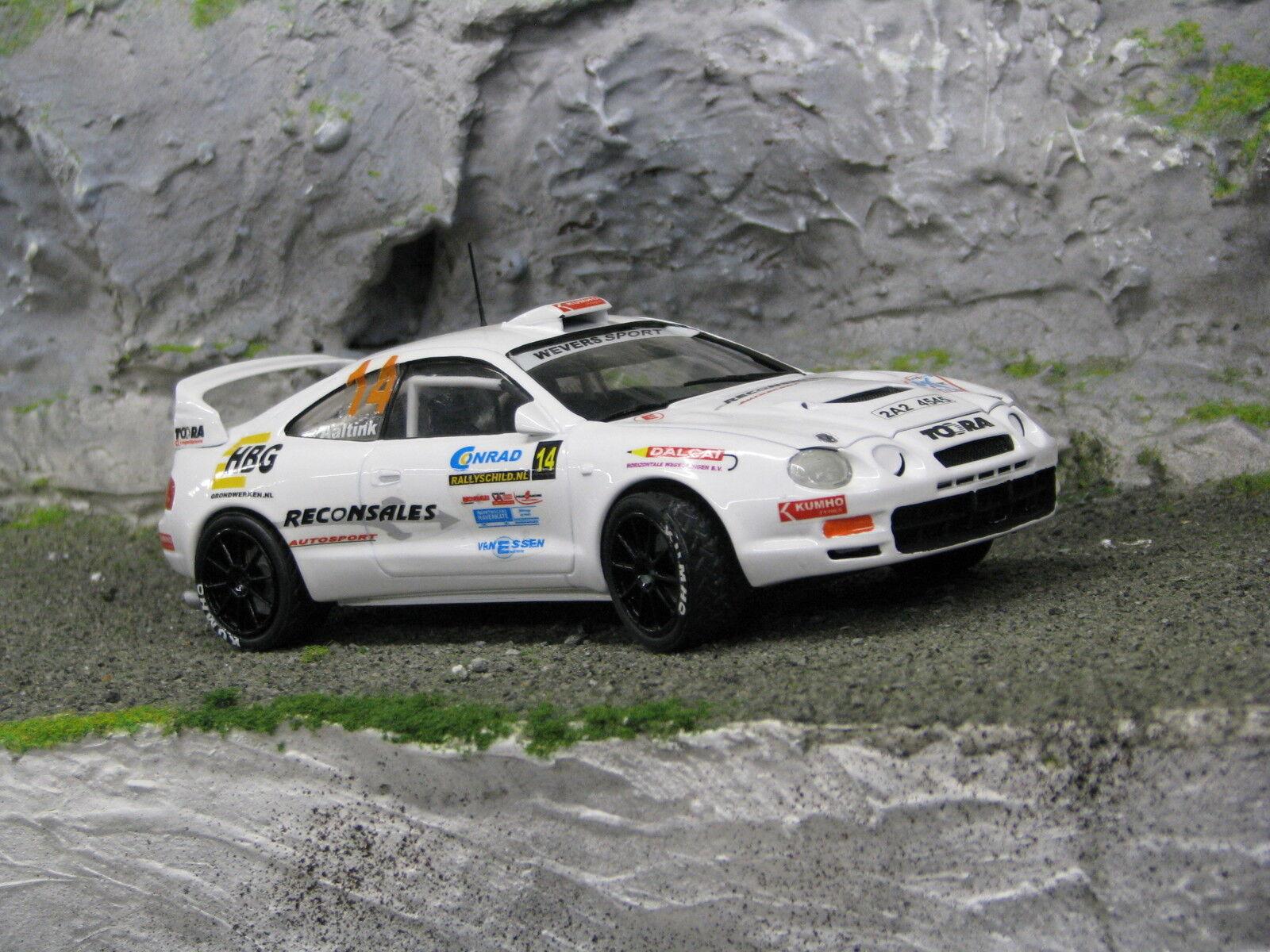 promociones QSP Jugueteota Celica GT-Four GT-Four GT-Four 1 24  14 Nijhof   Aaltink Conrad Euregio Rally 2005  tienda en linea