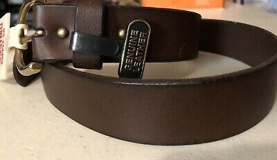 Genuine leather brown belt-Mossimo supply co