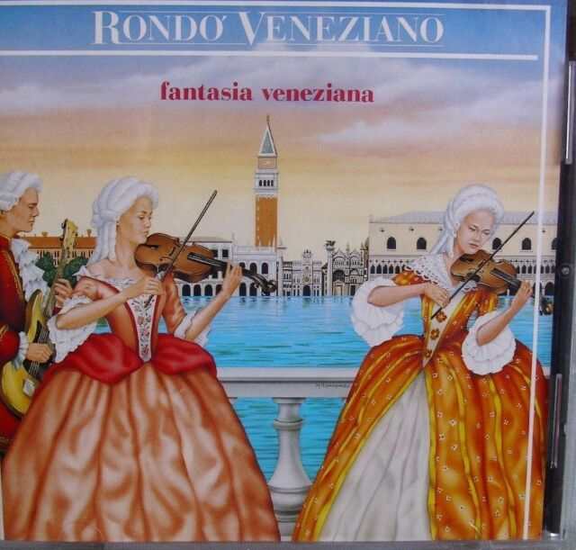 Rondo Veneziano- Fantasia Veneziana- ARIOLA 1986- Made in Germany WIE NEU