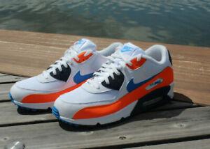 Nike Air Max 90 Essential Sneaker low weiß orange blau