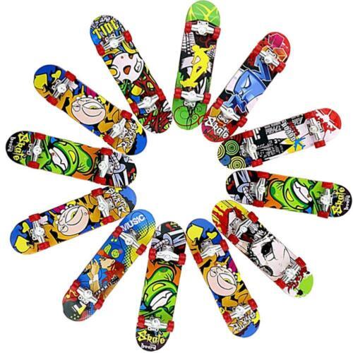 Mini Finger Skateboard Peeling Exquisite Spielzeug Matt Funny Boy Kid Geschenk