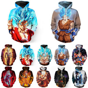 Dragon-Ball-Z-Super-Saiyan-Goku-3D-Imprimer-Sweat-a-Capuche-Unisexe-Sweat-shirt-Pull-Manteau