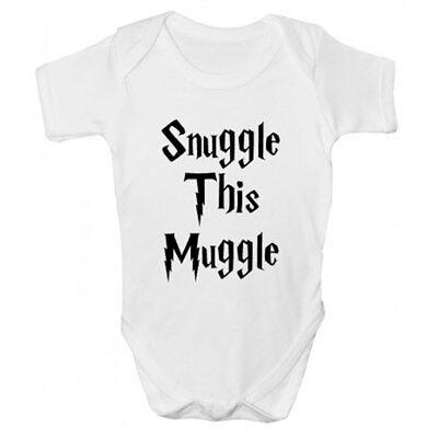 Snuggle Questo Babbano Baby Grow-harry Potter Ispirato Bambini Clothing-