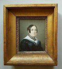 Porträt einer Tiroler Dame mit Spitzenkragen, Rudolf Friedrich Wasmann um 1860