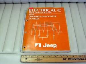 1986 Jeep Cherokee / Wagoneer Electrical Diagrams ...