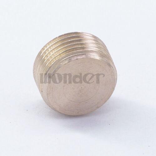"LOT10 3//8/"" BSP male Brass Countersunk Plug Internal hex head socket Pipe fitting"