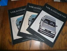 1984 Vw Volkswagen Rabbit Jetta Quantum Scirocco Sales Brochure Buy 2 Get 3