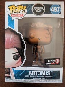 Funko Pop! Ready Player One Copper Art3mis Artemis #497 Gamestop Exclusive New