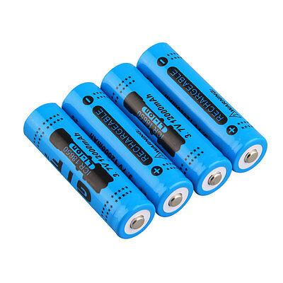 18650 3.7V 12000mAh Rechargeable Li-ion Battery for LED Torch Flashlight SR