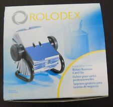 Rolodex Rotary Business Card File 67236 Index Tabs Cards New