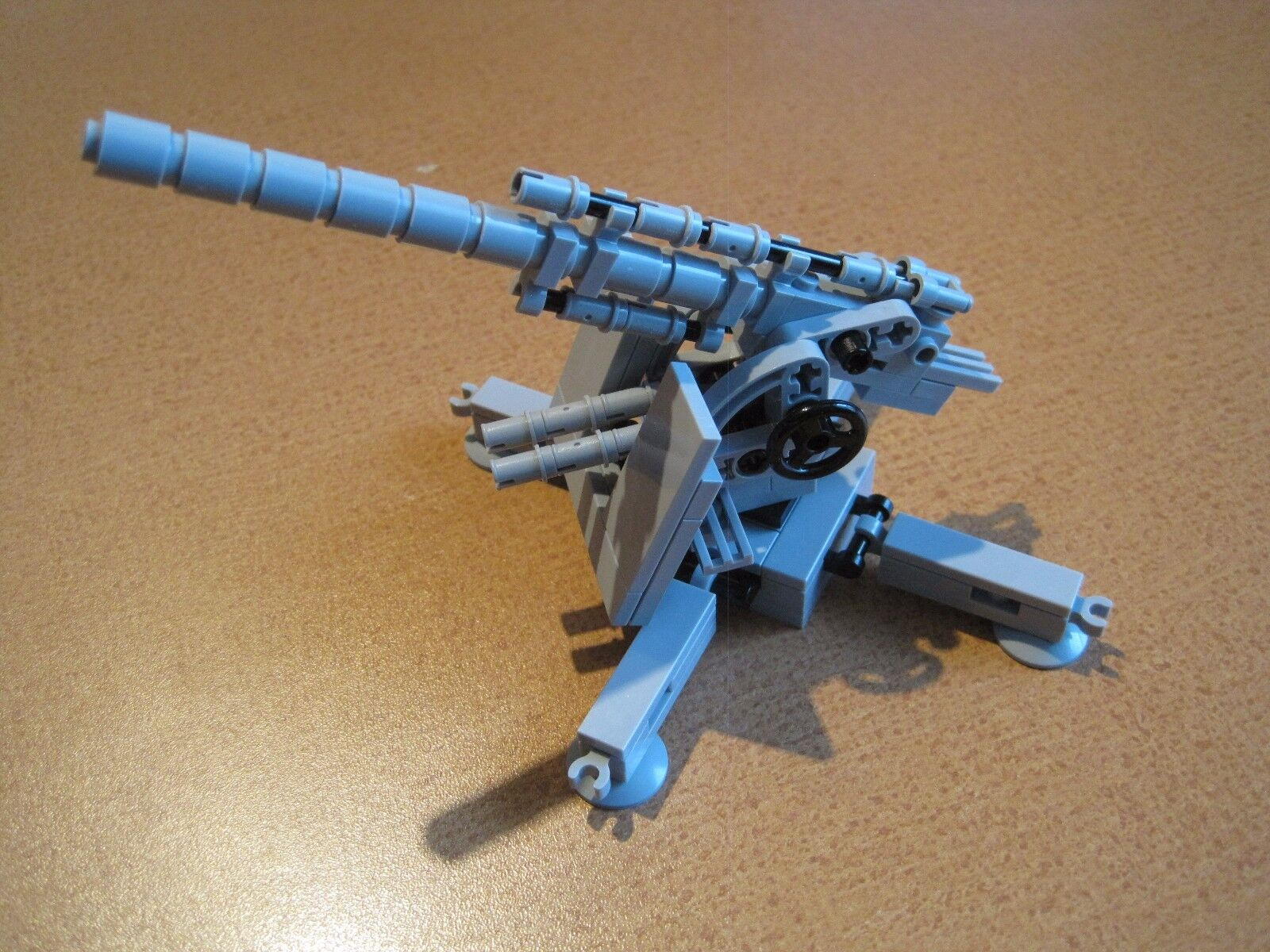Lego WW2 GERMAN Cannon 88 mm AA Gun LT ANTITANK Artillery MINIFIGS NEW