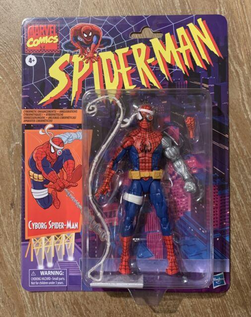 Marvel Legends Cyborg Spider-Man Retro Action Figure Target Exclusive IN HAND