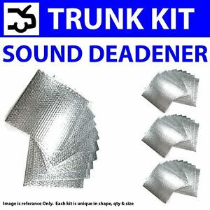 Zirgo 317924 Heat /& Sound Deadener for 65-70 Cougar Trunk Compartment Stg2 Kit