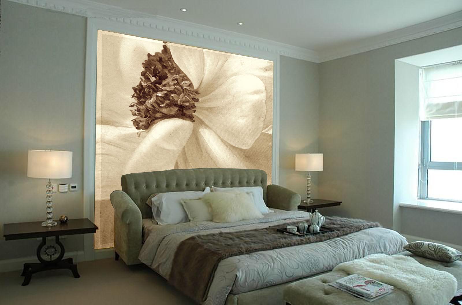 Papel Pintado 23 Mural De Vellón Pétalos De Flor Blancas 23 Pintado Paisaje Fondo Pantalla f6fdc2