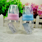 New 60ml 2 OZ Silicone Baby Infant Newborn Feeding Nursing Nipple Bottle Bottles