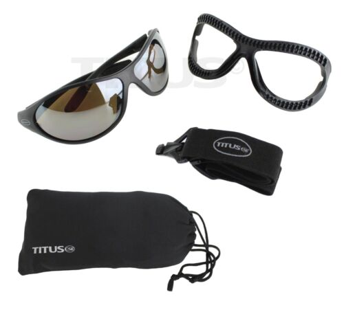 Goggles Sun Glasses Eye Protection Outdoor Atv Skiing Boating Sports Convertible