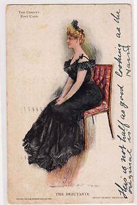 Howard-Chandler-HC-Christy-Postcard-The-Debutante-Artist-Signed-Private-Mailing