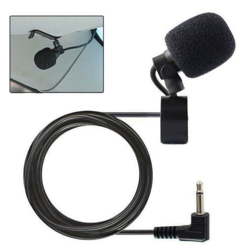 New 2.5mm Connector Microphone For Car Pioneer Stereo Receiver Bluetooth Kit