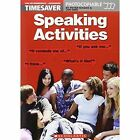 Speaking Activities Pre-Intermediate - Advanced: Pre-intermediate - Advanced by John Hird, Peter Maggs (Spiral bound, 2002)
