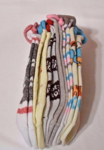 Disney Women/'s 6-Pk Assorted Candy No-Show Socks Size 9-11