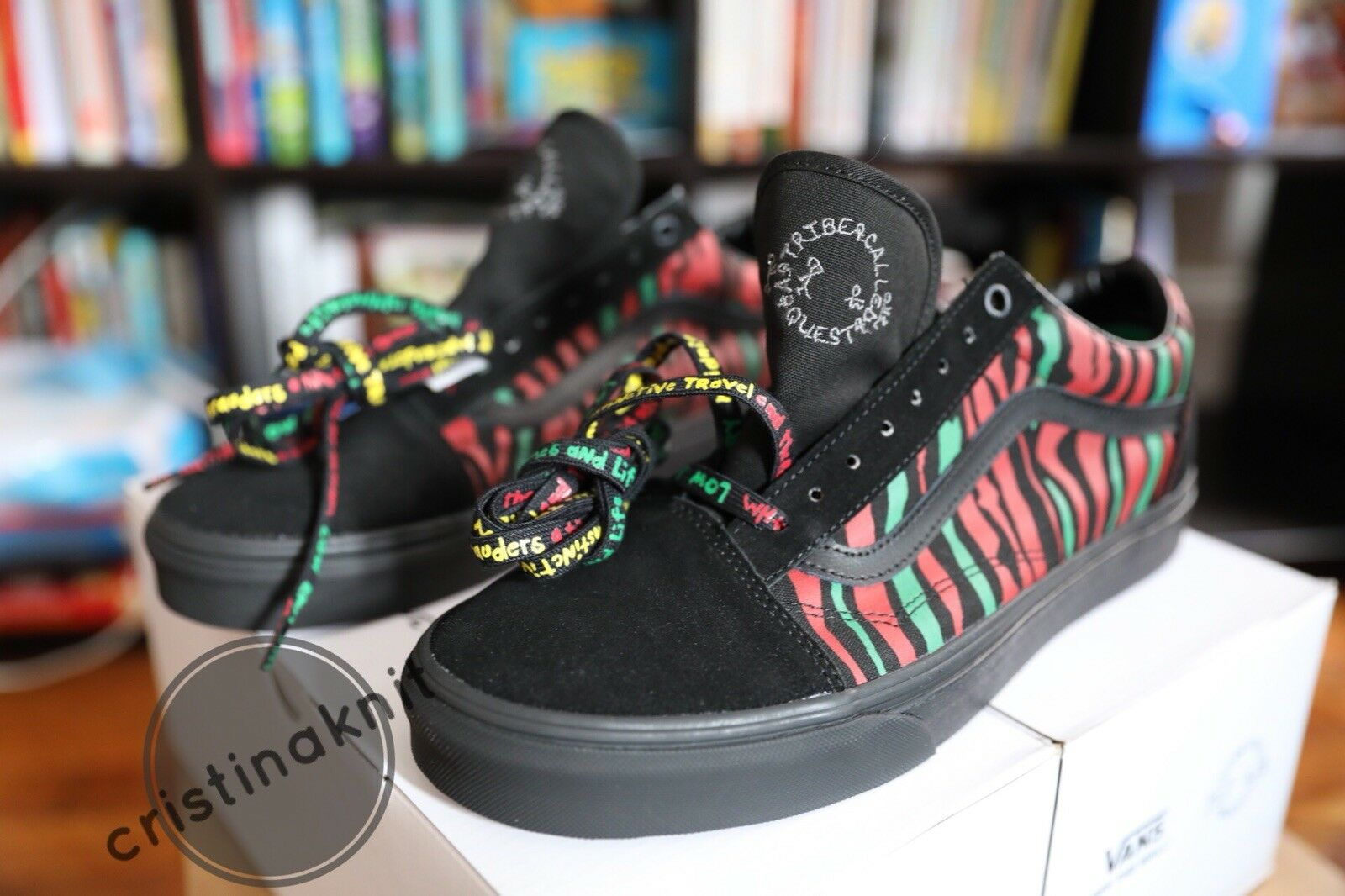 VANS ATCQ Old Skool A Tribe Called Quest Size 10.5
