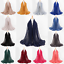 Women-Ladies-Cotton-Scarf-Balls-Scarf-Plain-Color-Shawls-Hijab-Muslim-Head-Wrap thumbnail 2