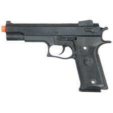 DOUBLE EAGLE M1911 SPRING AIRSOFT HAND GUN PISTOL 6mm BB BBs Black