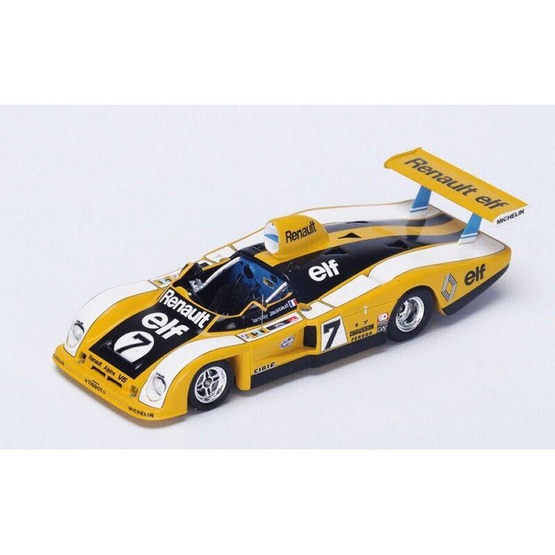 100% garantía genuina de contador Spark Model S1553 Renault-Alpine Renault-Alpine Renault-Alpine 442 N.7 DNF LM 1977 P. Tambay-Jaussaud 1 43  precio al por mayor