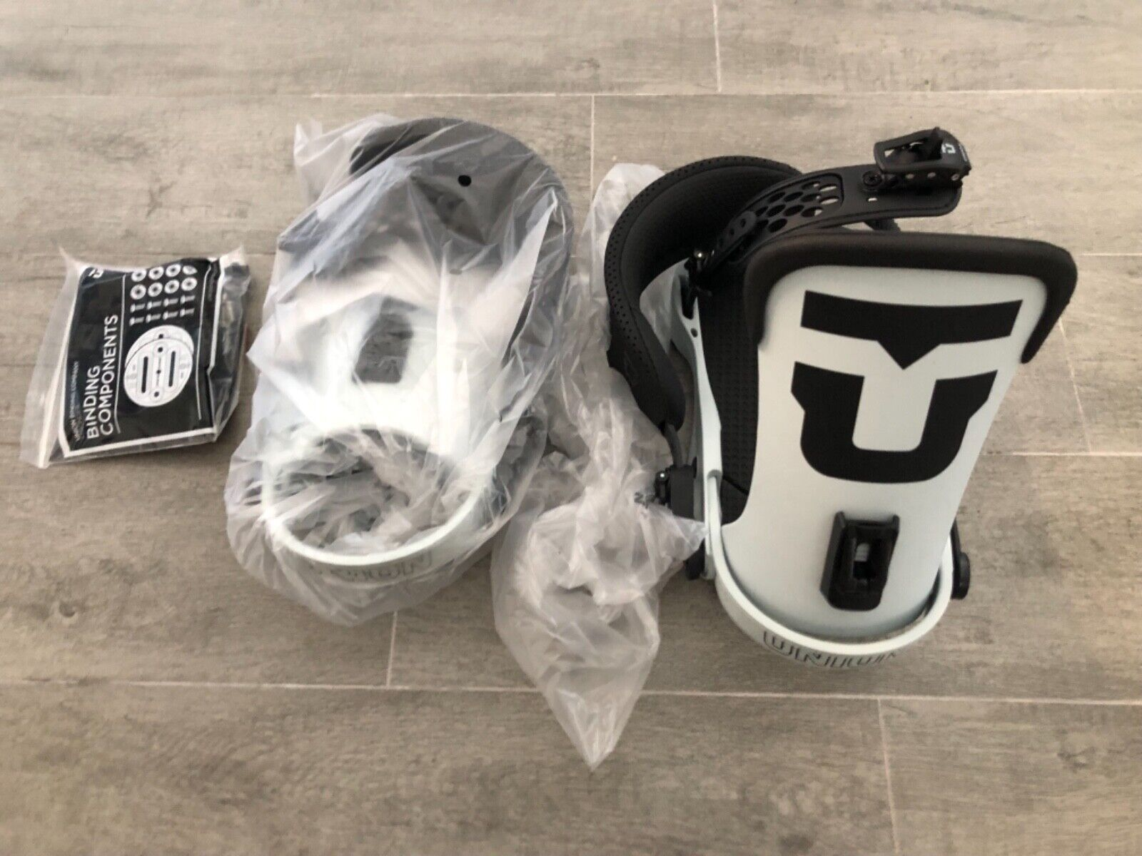 2019 2020 Union TEAM Force Snowboard Bindings LARGE Rare - Limited Pre-Release