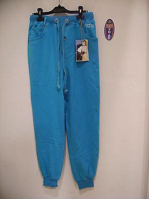Tom Caruso Pantalone Tuta Felpa Invernale Azzurro Xl Per Classificare Prima Tra Prodotti Simili
