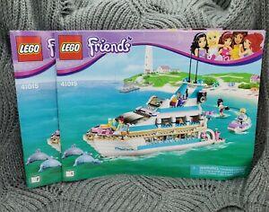 LEGO Friends Dolphin Cruiser 41015 Book 1 & 2 Instruction ...