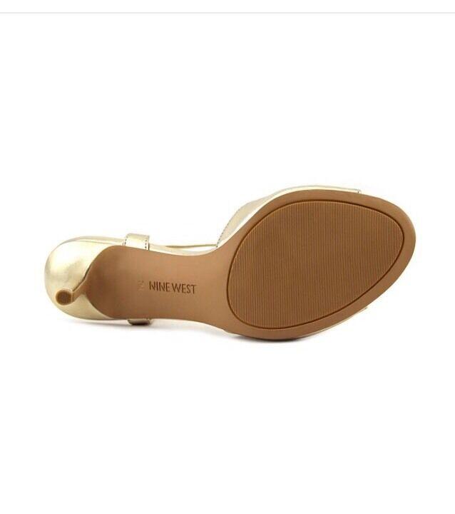 Nine West Gratziay Woman Summer Leder God Heels NEU Sandalen Schuhe Pump 39,5 NEU Heels 0e4770
