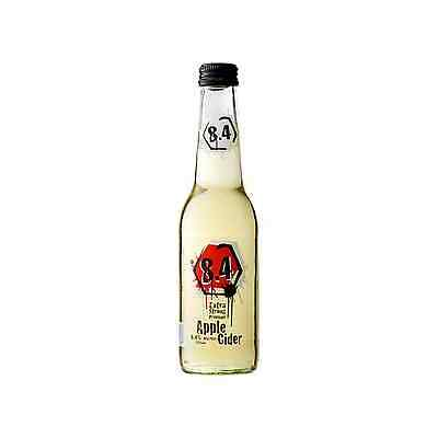 8.4  Extra Stong Premium Apple Cider 275mL case of 24 Beer