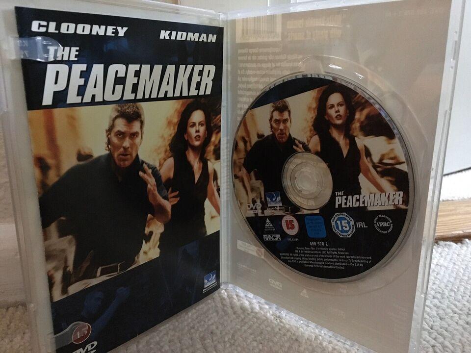 THE PEACEMAKER, instruktør MIMI LEDER, DVD