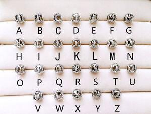 charme pandora lettre h